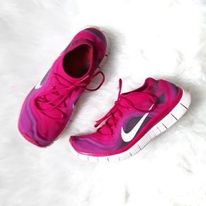 Nike   Pink Marbled Nike Free